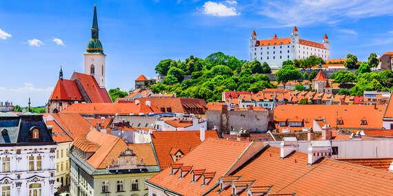 Oddych len pár metrov od Modrého kostolíka v komfortnom hoteli Elisabeth Old Town*** od 1 noci/Bratislava - Staré Mesto