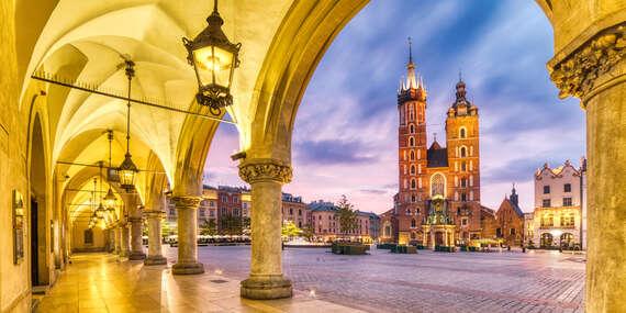 Pobyt so stravou a wellness v 4* hoteli Sympozjum s ľahkým prístupom do centra Krakova / Krakov - Poľsko