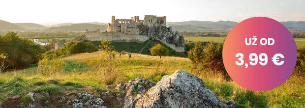 Vstup na hrad Beckov