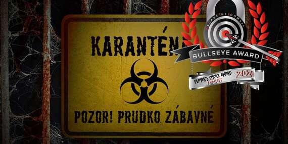 Ujdeš z KARANTÉNY, nominovanej medzi top 10 online šifrovačiek? (escape hry na doma)/Bratislava - Staré Mesto