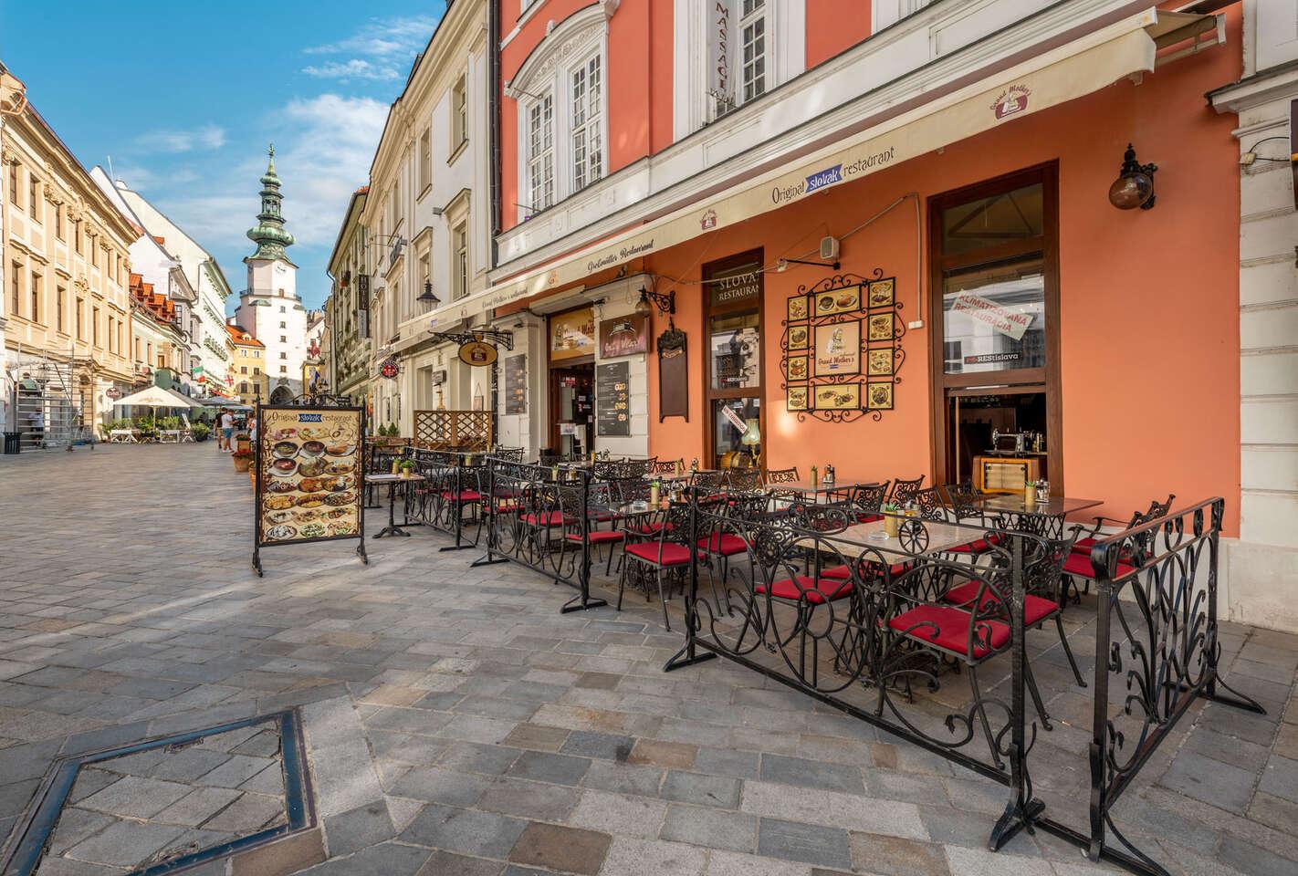 Marinované rebrá v Grand Mother's Slovak Pub pod Michalskou bránou