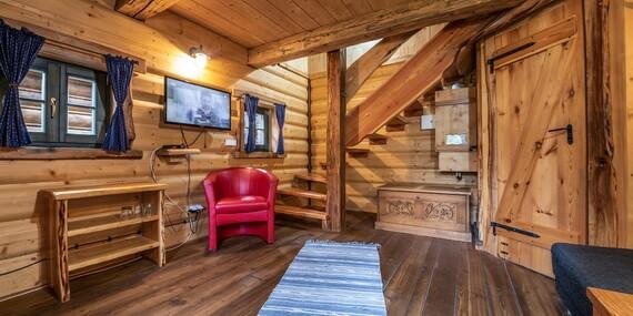 Splňte si sen o vlastnej chatke v Tatrách: Domčeky pri hoteli Nezábudka*** s polpenziou a wellness/Tatranská Štrba