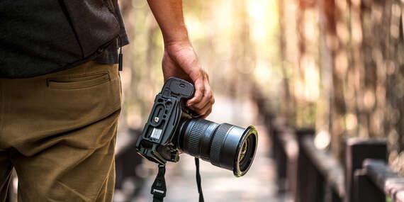 Individuálny kurz fotografie pre začiatočníkov s profesionálnym fotografom - len vy a lektorka/Bratislava - Staré Mesto