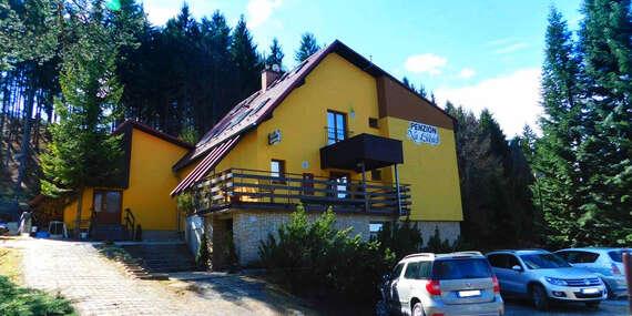 Beskydy v penzionu Na Lukách s polopenzí, saunou, skvělým zázemím pro sport a platností do prosince 2020 / Beskydy - Horní Bečva
