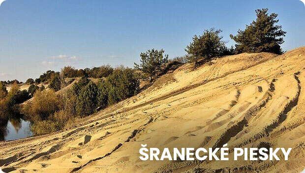 Sranecke piesky Sahara