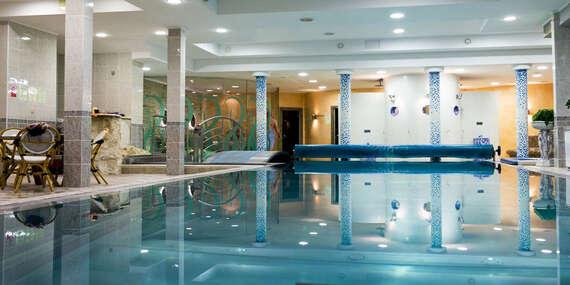 Vstup do wellness centra so 6 saunami v Hoteli Bránica**** na 2 hodiny/Malá Fatra - Belá
