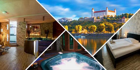 Súkromný alebo privátny wellness pobyt s panoramatickým výhľadom na Bratislavu v hoteli Modena***/Bratislava - Vlčie Hrdlo - Ružinov