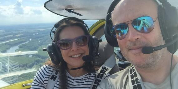 Zážitkový let pre 1 osobu na skvelom dizajnovom lietadle Bristell - aj s možnosťou pilotovania/Letisko Sládkovičovo (30 min. od Bratislavy)