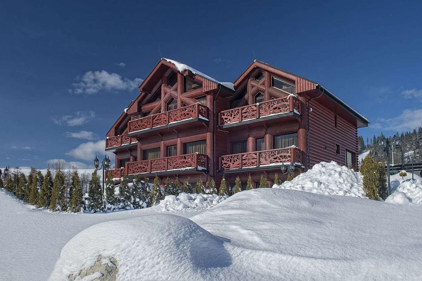 Romantika v luxusnom Mountain Resort Apartments uprostred Belianskych...