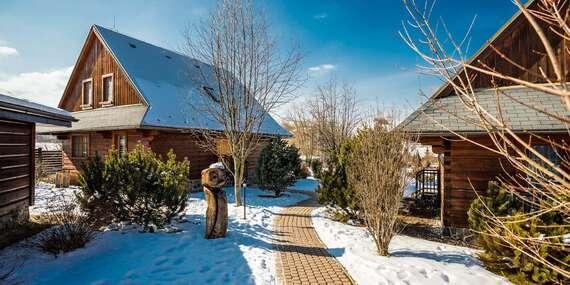 Čarovná zima s celou rodinou v apartmánoch alebo dreveniciach resortu Sojka / Liptov - Malatíny