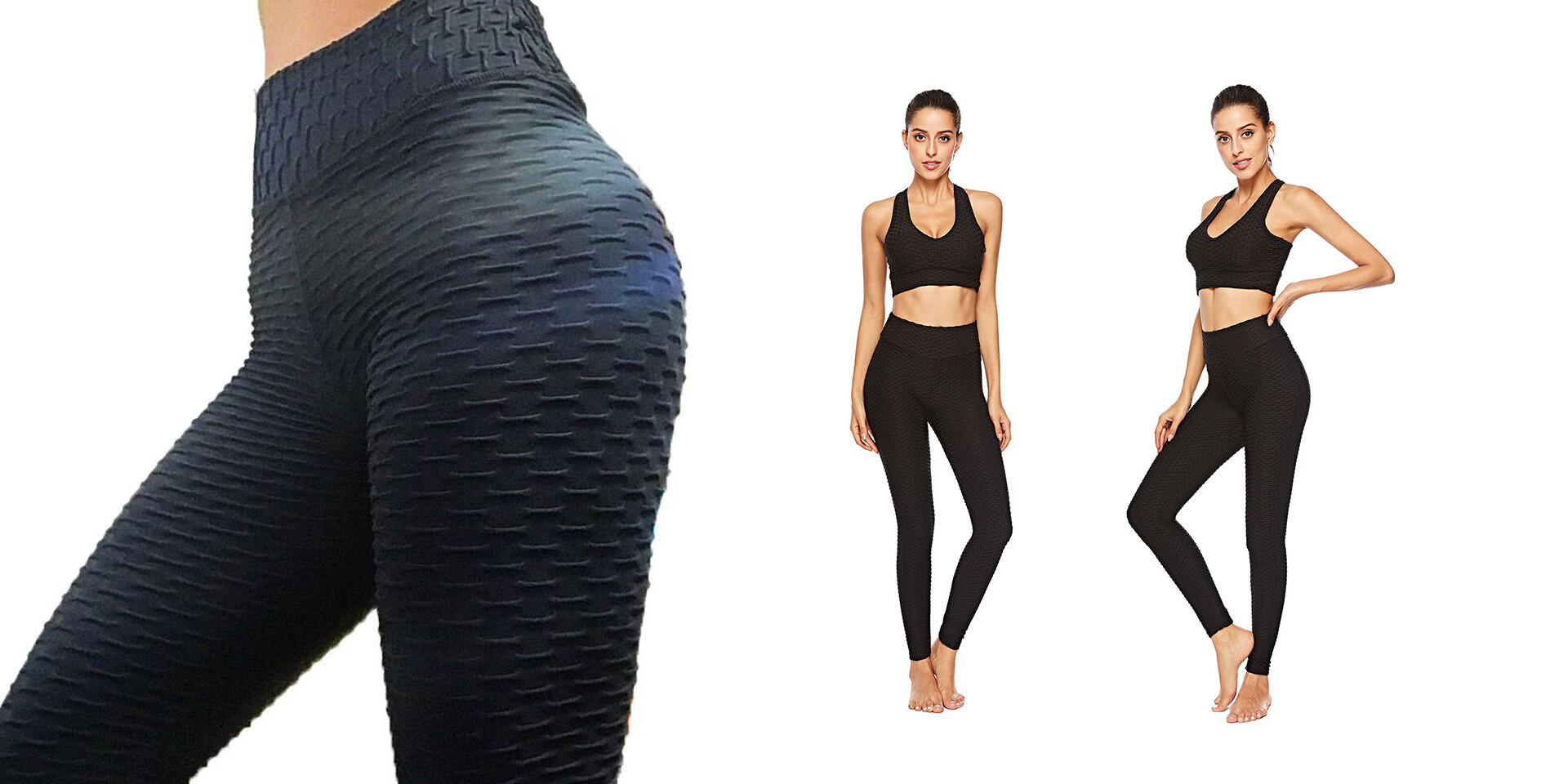 Legíny s účinkom proti celulitíde - Mega Fit Leggings