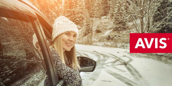 Zimná dovolenka s autom od AVISu vrátane diaľničnej známky a možnosti vycestovať za hranice / Slovensko