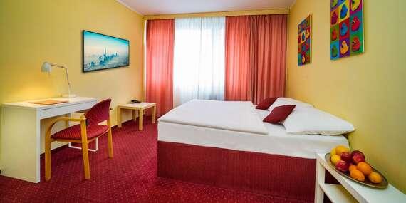 Priestranné izby hotela UNO*** v Prahe s raňajkami len 12 min. od centra/Česko - Praha 10