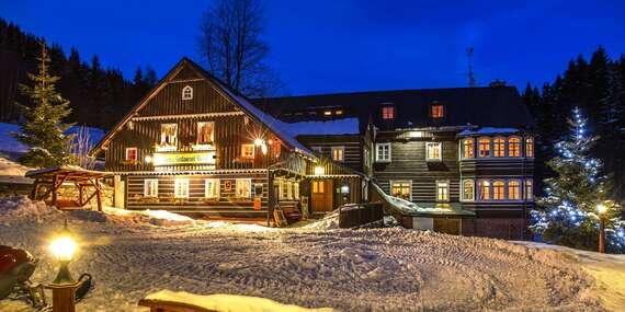 Zimní pobyt v penzionu Rusalka s polopenzí a relaxací v privátní sauně / Krkonoše - Malá Úpa