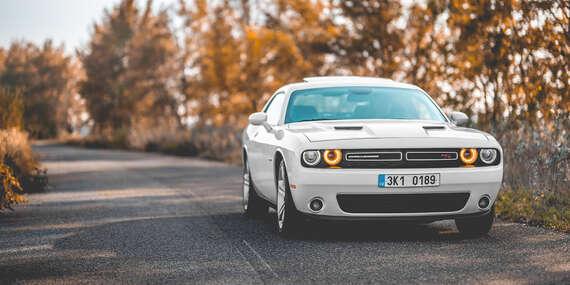 Jedinečný zážitok za volantom nadupaného Dodge Challengera V8 HEMI 5.7l/Bratislava - Ružinov