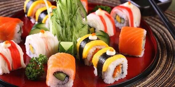 Zapište si za uši, kam na sushi v centru Prahy: 35% sleva na sushi v restauraci Sushi Oishi na Novém Městě/Praha 1 - Nové Město