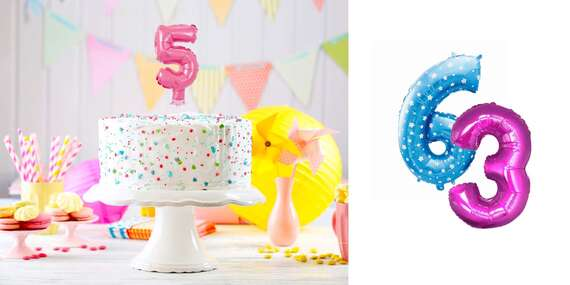 Balóny a hélium na vašu parádnu oslavu / Slovensko