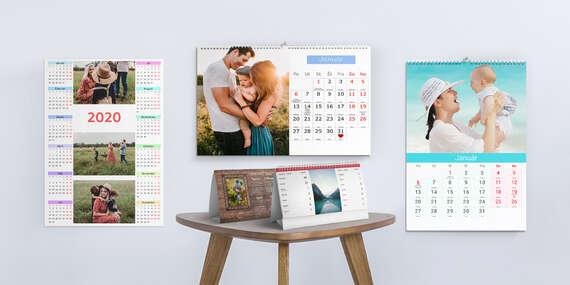Fotokalendáre navrhnuté do 3 minút/Slovensko