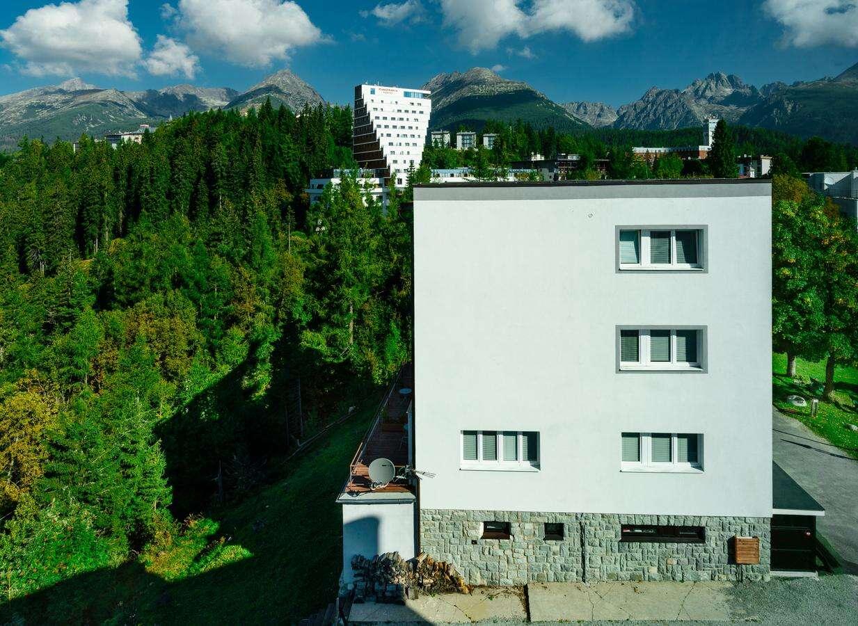 Vila Emma len 400 m od Štrbského plesa, s nádherným výhľadom na...