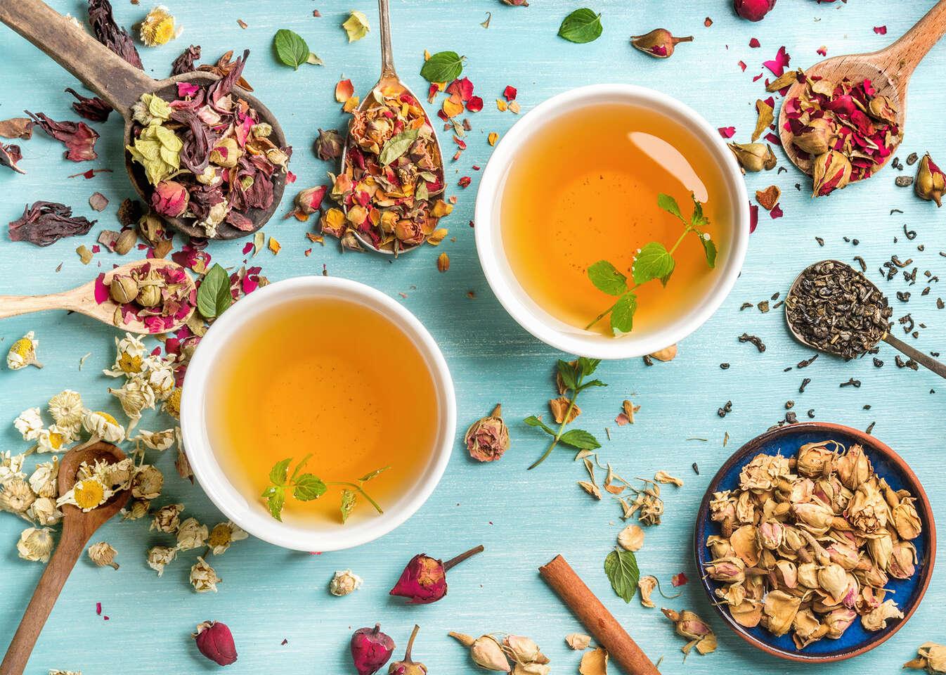Sypaný čaj od 9 Grams Coffee