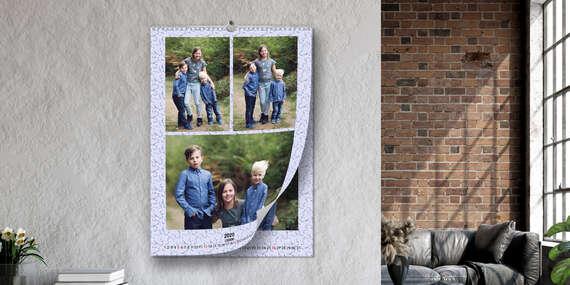 Stolové či nástenné kalendáre z vašich fotografií na rok 2021 aj ako originálny darček pre blízkych/Slovensko