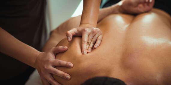 Antistresová masáž na zmiernenie stresu/Prešov
