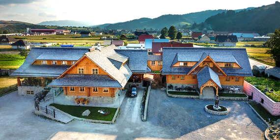 Wellness pobyt na Oravě v krásné Zbojnické kolibě s polopenzí a možností pivních lázní / Slovensko - Oravská Jasenica