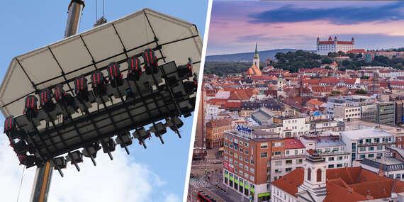 Brunch alebo pohárik v oblakoch – lietajúca reštaurácia, ktorá sa postará o nezabudnuteľný zážitok/Bratislava – Staré Mesto