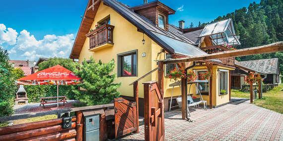 Dom pod Horou v krásnom a tichom horskom prostredí Liptova pre 16 ľudí s wellness / Liptovský Ján - Liptov