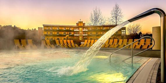 Neomezený wellness pobyt v bazénech s termální léčivou vodou v Thermenhotelu Puchasplus ****/Rakousko - Stegersbach