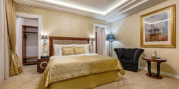 Luxusný oddych s wellness, procedúrami, Zlatým kúpeľom a aquaparkom v hoteli Royal Palace*****, s platnosťou až do decembra 2020/Turčianske Teplice