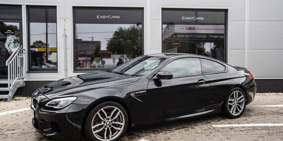 Prenájom exkluzívnych športových aut v Easycars/Bratislava - Rača