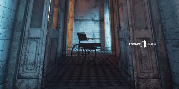 Zachováte si zdravý rozum? Asylum - úniková hra až pro 6 hráčů na Praze 7 s platností až do června 2020 / Praha 7 - Holešovice