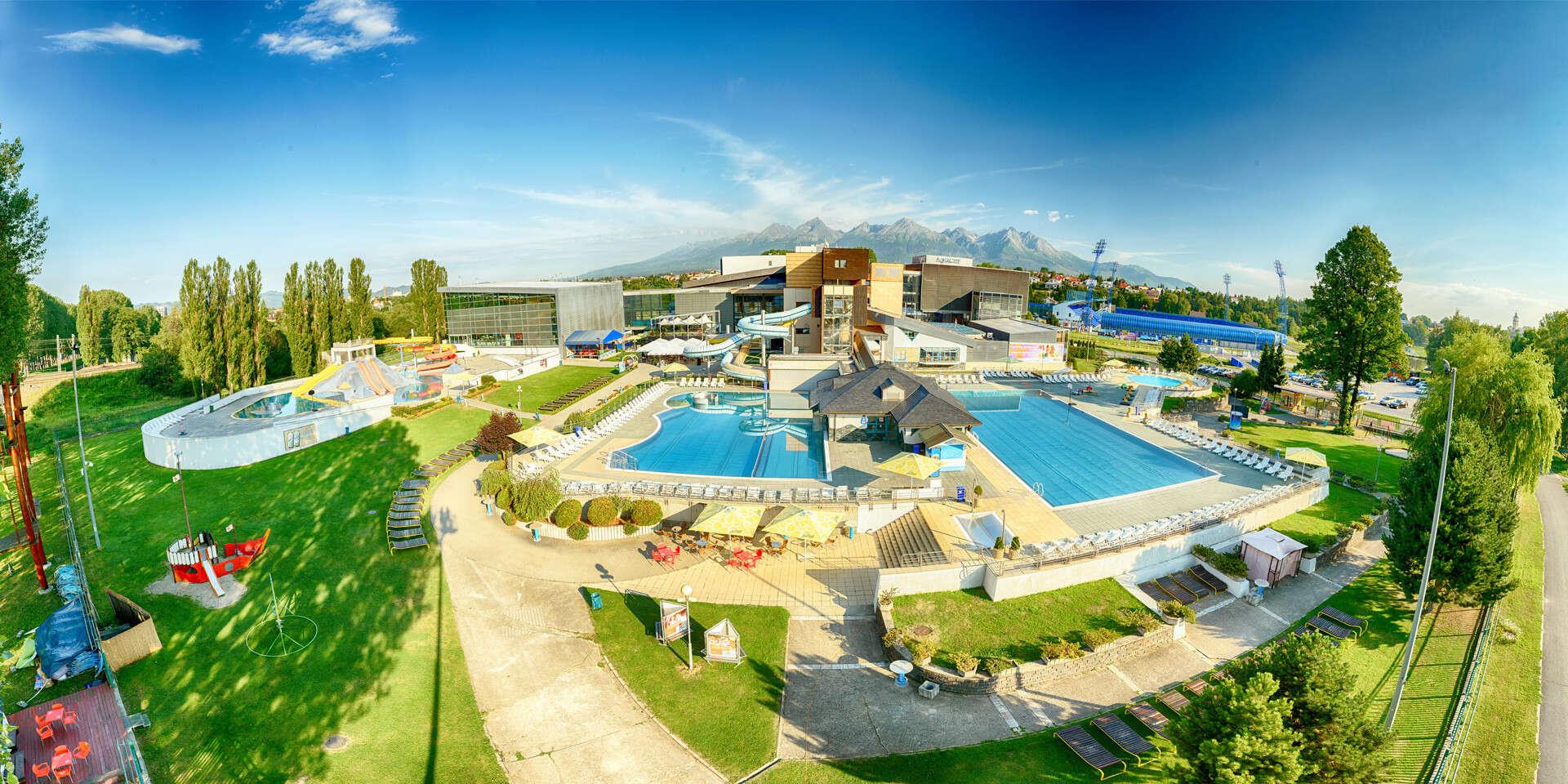 Relax v AquaCity Poprad alebo dobrodružstvo v Slovenskom raji s výh...