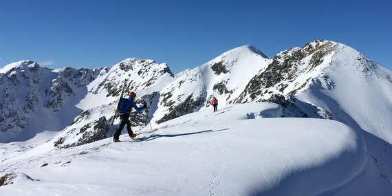 Vyskúšajte skialpinizmus pod dohľadom horského sprievodcu s kompletným vybavením vo Veľkej Fatre/Slovensko