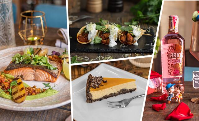 Romantické menu pre dvoch v obľúbenej reštaurácii Le Papillon v centre mesta.