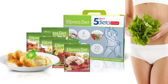 Proteínová ketodiéta Express Diet s výhodnými balíčkami až na 5 dní/Slovensko