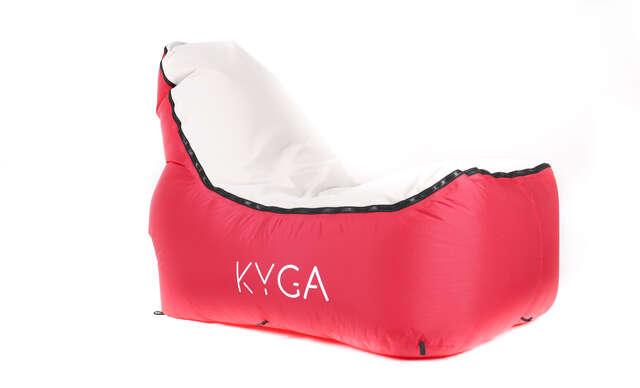 Nafukovacie vaky a stoličky KYGA.