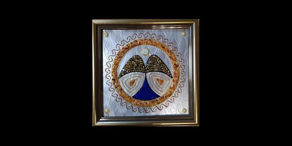 Ručne maľovaná mandala - jedinečný darček vytvorený na mieru/Slovensko