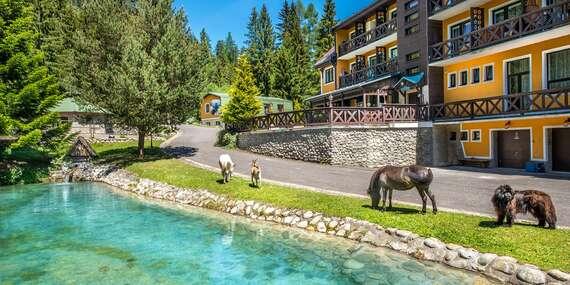 Rodinná dovolenka uprostred lesa v HORSKEJ CHATE OREŠNICA*** s polpenziou/Račkova dolina - Pribylina