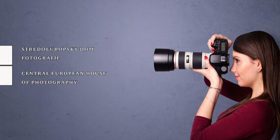 3-mesačné kurzy fotografie pre začiatočníkov, pokročilých aj skôr narodených / Bratislava - Staré Mesto