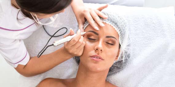 Permanentný makeup NANO ihlou - tieňované obočie, očné linky alebo krásne pery/Bratislava - Nové Mesto