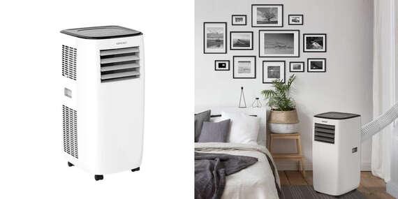 Mobilná klimatizácia Concept KV1000 - klimatizácia, odvlhčovač a ventilátor v jednom/Slovensko