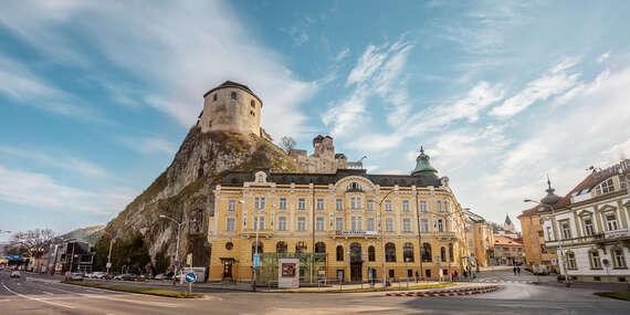 Luxusný relax v hoteli s prvotriednymi službami, špičkovou gastronómiou a krásnym wellness v hoteli Elizabeth****/Trenčín