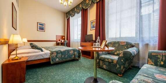 Hotel Arcus*** len 10 min. pešo od centra Bratislavy, s priestrannými izbami a možnosťou parkovania/Bratislava
