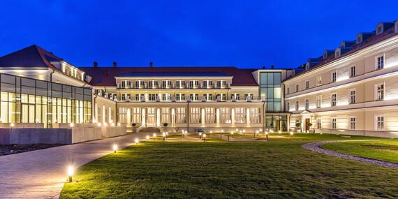 Luxusný oddych s wellness, procedúrami, Zlatým kúpeľom a aquaparkom v hoteli Royal Palace*****/Turčianske Teplice