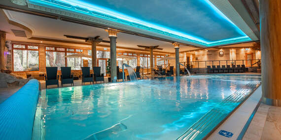 Wellness v Športcentre Púchov - vstupy do vodného a saunového sveta / Púchov