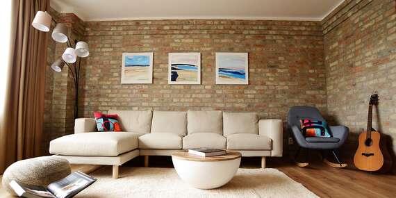 Ubytovanie v artovom apartmáne, ktorý vás uchváti/Nové Zámky