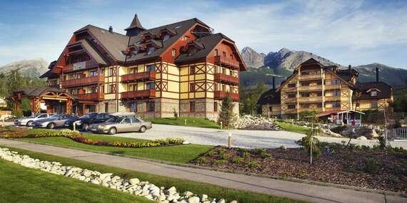 Dovolená pro náročné v APLEND Hotelu Kukučka **** blízko lanovky na Lomnický štít/Tatranská Lomnica