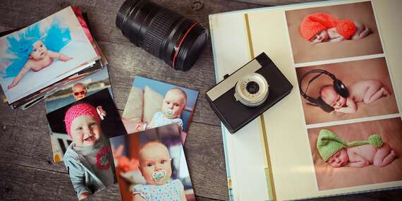 Tlač digitálnych fotografií na špeciálny pololesklý papier/Slovensko